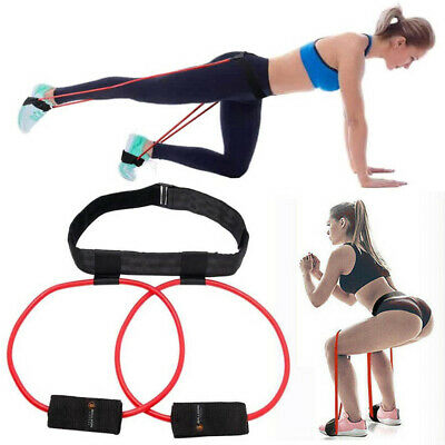 Booty Belt Band Power Butt Exercise for exercise Glute & Lower Body Muscles