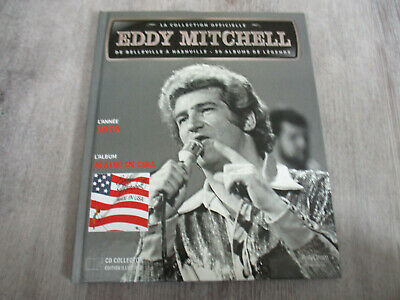 livret cd disque EDDY MITCHELL  collection officiel 1975 MADE IN USA