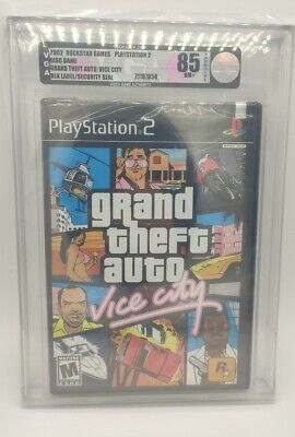 Grand Theft Auto Vice City · GTA Vice City · PS2 · VGA Graded 85 · Black Label