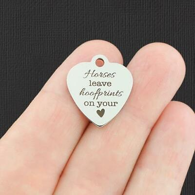 BFS1265 Pet Stainless Steel Charm Pets leave paw prints on our hearts