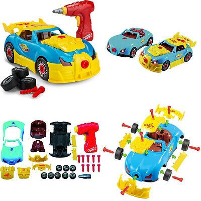 Racing Car Take Apart Toy - Build your own - Construction - -...