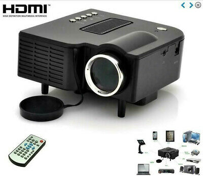 Mini LED Projector Lcd Image System, Black A-Z308-00A