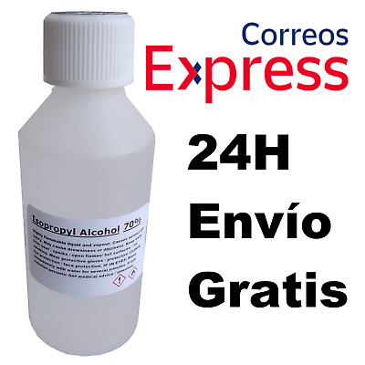 Alcohol Isopropilico IPA / Isopropanol Liquido Desinfectante Virus 250ML