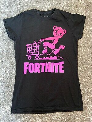 Girls Fortnite T Shirt 12-13 Years 6/8