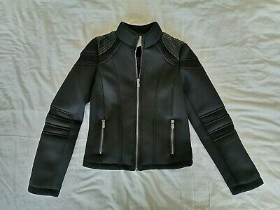 Cars Jean Biker Style Jacket. Age 10. Black. Kids. Boy. Girl