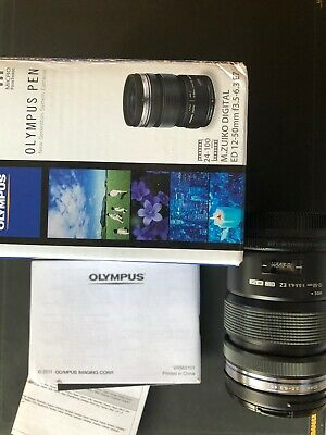 Olympus M.Zuiko 12-50mm f/3.5-6.3 ED Lens For Micro Four Thirds, Micro 4/3 Black