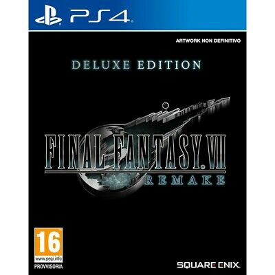 Preordine 10 aprile 2020 - FINAL FANTASY VII REMAKE DELUXE EDITION Playstation 4
