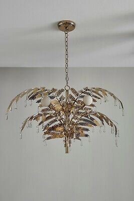 Lighting by Pecaso 11 Light Contour Chandelier in Gold 3002