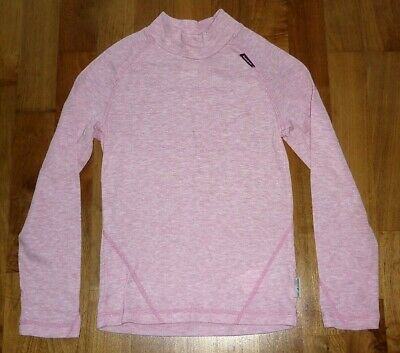 Wedze Girls Thermal Base Layer Top Age 8