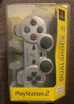 Sony DualShock 2 PlayStation PS2 Wired Analog Controller New In Box SEALED