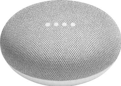 Google Home Mini (1st Generation) Wi-Fi Speaker w' Google Assistant - Chalk NEW