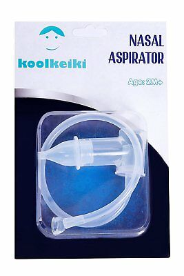 Baby Nasal Aspirator Comfy Washable Reusable Soft Silicone Tip