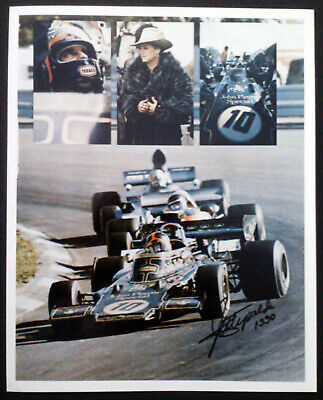 AUTOGRAPHED SIGNED 8x10 PHOTOGRAPH- EMERSON FITTIPALDI