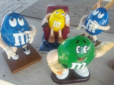 Rare Lot of 4 Collectible M & M Store display !!!