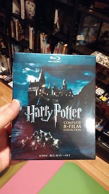 Harry Potter: Complete 8-Film Collection (Bluray Boxset)Free S&H with Tracking