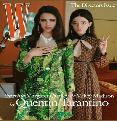 W Magazine: Volume 2, 2020-The Director Issue-Margaret Qualley-Mikey Madison