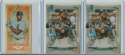 3x 2020 Topps Gypsy Queen Luis Robert Rookie Base Set + Fortune Teller RC LOT