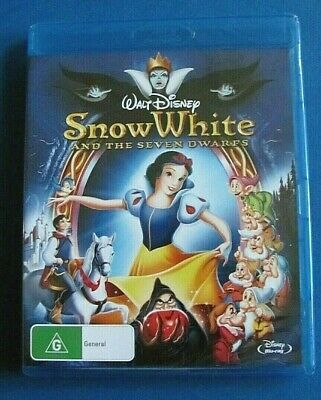 SNOW WHITE and the Seven Dwarfs BLU-RAY NEW SEALED Disney