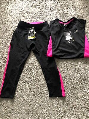 BNWT Girls Karrimor Running Set Age 13