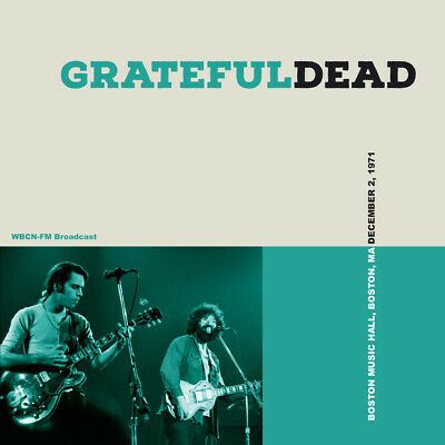 GRATEFUL DEAD  - Boston Music Hall, Boston MA, December 2, 1971 (lLimited 3CD)