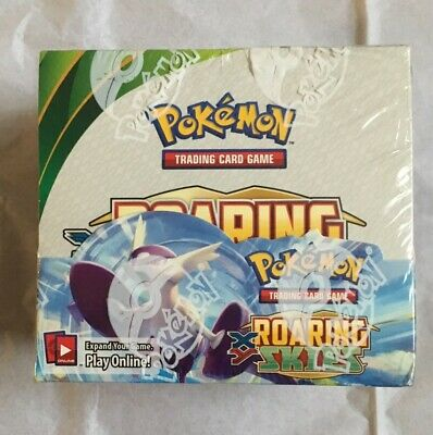 Pokemon Cards TCG - XY - Roaring Skies - Booster box - Factory sealed