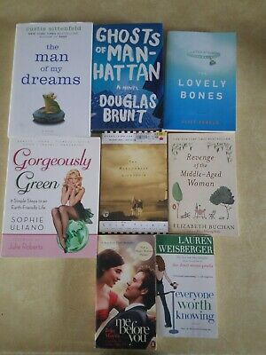Lot of 8 Mystery Thriller Fiction Paperbacks Popular Author Books MIX UNSORTED