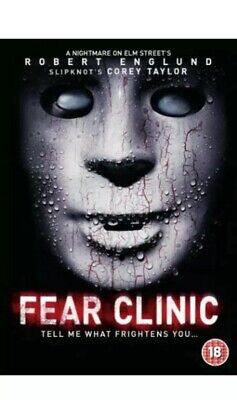 Fear Clinic DVD (2015) Corey Taylor, Robert Englund NEE SEALED DVD