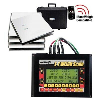 Intercomp 170130 SW500 E-Z Weigh Kart Scale System