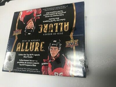 2019-20 Upper Deck Allure NHL Hockey Factory Sealed Retail Box - 20 Packs