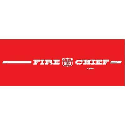 AMF Generic Fire Chief 503 Graphic