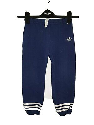 Boys ADIDAS ORIGINALS Tracksuit Bottoms Age 4-5 Years