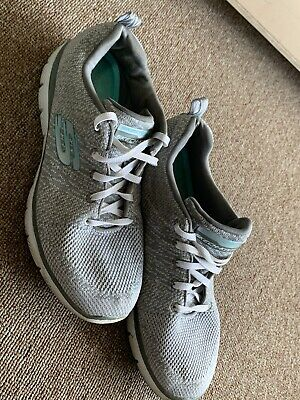 SKECHERS SKECH KNIT Womens Shoes Size 9.5 Memory Foam Dual