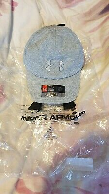 Brand New Womens Under Armour Grey Cap With Tags
