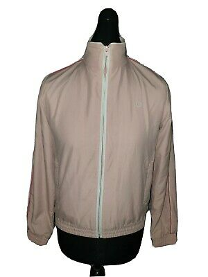 Girls FRED PERRY Cuffed Full Zip Track Top Age 15-16 Years