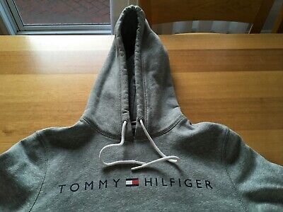 Tommy Hilfiger jumper - hoody- Size S adult - as new GREY - Great buy!!