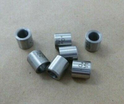 """5/16"""" ID X 1/2"""" OD X 1/2"""" TALL STAINLESS STEEL SPACER - BUSHING - STANDOFF 7Pcs."""