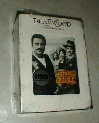 Brand New HBO TV Show DEADWOOD - The Complete Series DVD 19-Disc Box Set SEALED