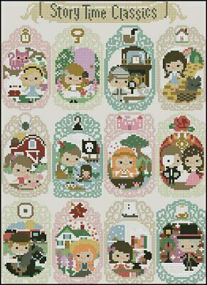 Story Time Classic Cross Stitch Chart
