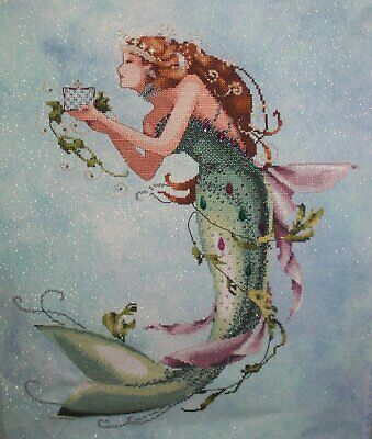 Queen Mermaid Cross Stitch Chart