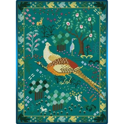 Medieval Bird Sampler Cross Stitch Chart