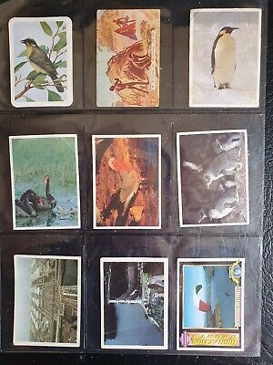 LoT OF 16 ASSORTED COLLECTOR CARDS FEAT: UNCLE TOBYS REUSABLE STICKERS. GOOD CON
