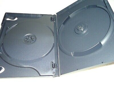 2-Disc empty DVD CASE REPLACEMENT