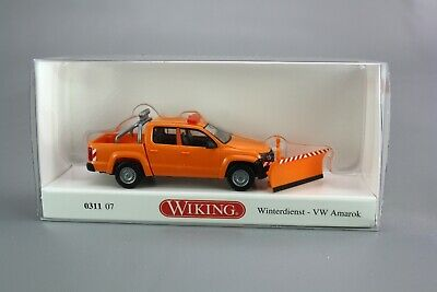 matt grau metallic Wiking VW Amarok GP Comfortline 0311 48-1:87