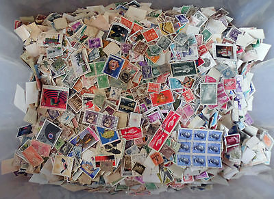 100 grams, All World Stamps Collection Mixture. Off Paper No GB. New Lot 46