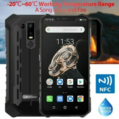 6.2 Ulefone Armor 6S Android 9.0 6+128GB 5000mAh CELLULARE IP68 NFC Smartphone