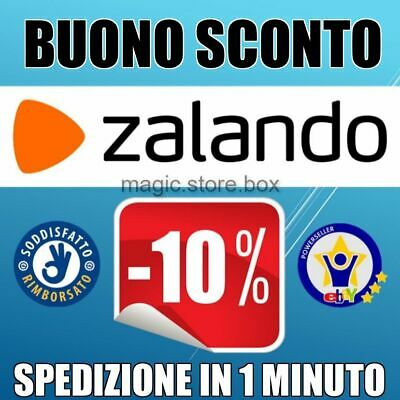 2 x COUPON SCONTO ZALANDO del 10% + OMAGGIO IMMEDIATO