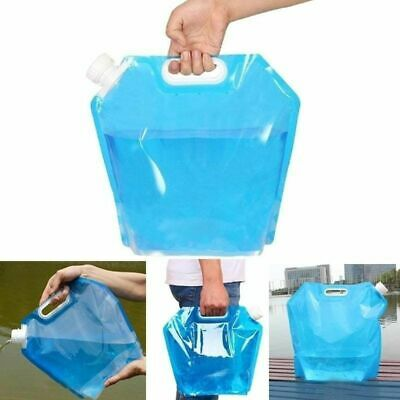Foldable Water Bags 5l/10l Outdoor Portable Drinking Camp Cooking Picnic BBQ Bag