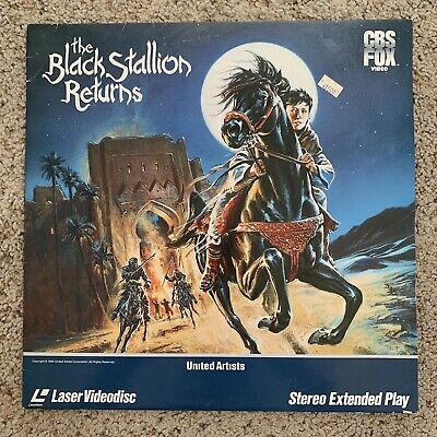 The Black Stallion Returns Laserdisc