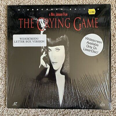 The Crying Game Widescreen Laserdisc