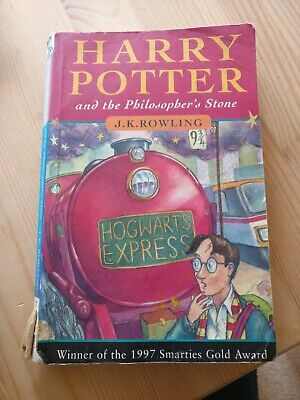 Harry Potter & The Philosopher's Stone Joanne Rowling Copyright RARE 40th print